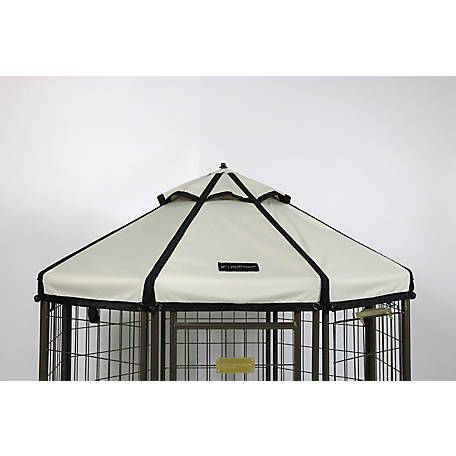 Advantek Pet Gazebo 8' Canopy Beach Sand