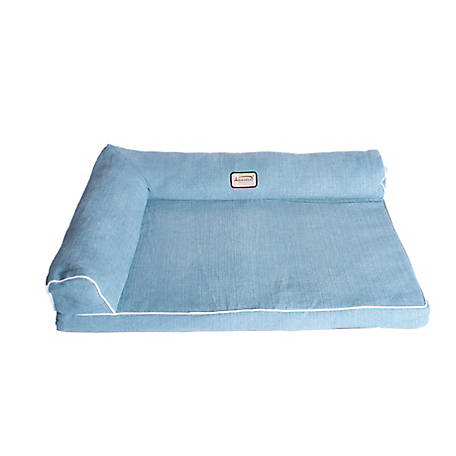 Armarkat Upholstered Memory Foam Dog Mattress 31 In Blue At Tractor Supply Co