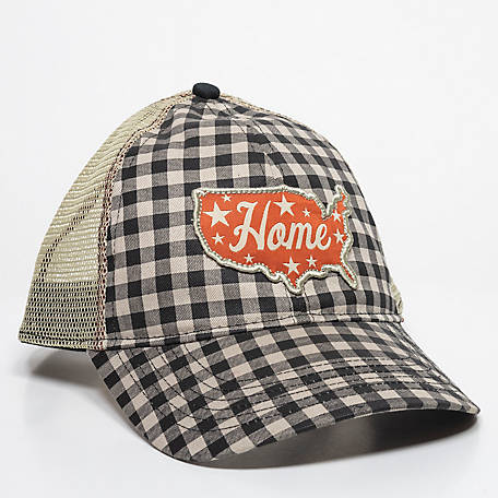 Outdoor Cap Ladies' Gingham Home Meshback