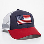 Outdoor Cap Men's Oversized Flag Meshback