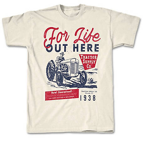 Men's Life Out Here Short Sleeve Graphic T-Shirt