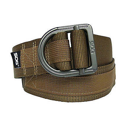 SOG Tactical Nylon Webbing Belt With Velcro Closure