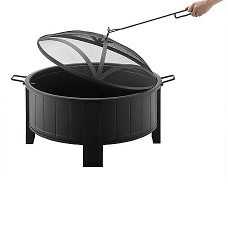 RedStone 30 in. Deep Bowl Fire Pit, FT-10277B