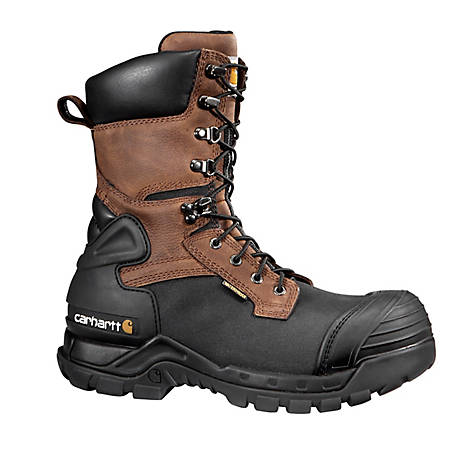 Carhartt Men's 10 in. CMC1259 Composite Toe Insulated Waterproof Pac-Boot