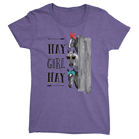 Lost Creek Women's Short Sleeve Hay Girl T-shirt