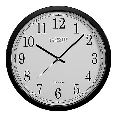 La Crosse Technology 14In Atomic Analog Wall Clock, WT-3143A-INT