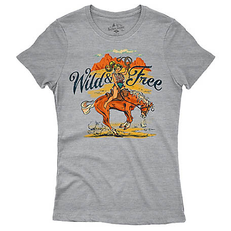 The Northern Outpost Co. Women s Wild   Free Graphic T-Shirt at ... 6a173a94fb