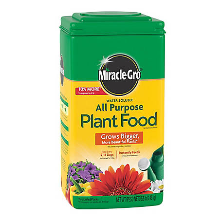 Miracle-Gro Water Soluble All Purpose Plant Food 5.5 lb., 1011410