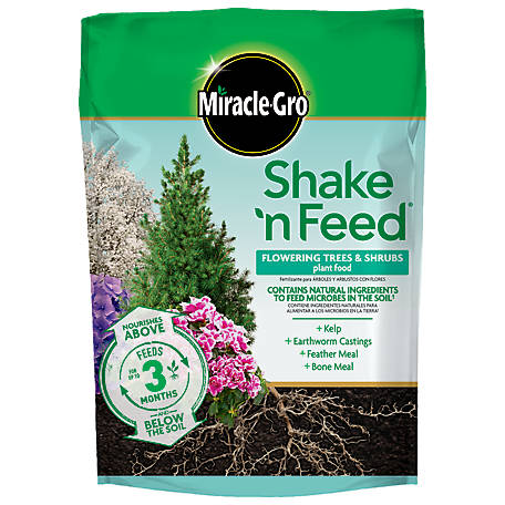 Miracle-Gro Shake 'N Feed Flowering Trees and Shrubs Plant Food 8 lb., 3002410