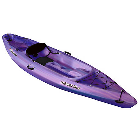 Sun Dolphin Retreat 10 4 Sit On Kayak, Pink/Purple, 53981-TSC at Tractor  Supply Co