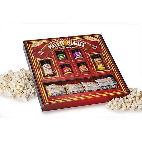 Wabash Valley Farms Vintage Movie Night Gift Set, 77312DS