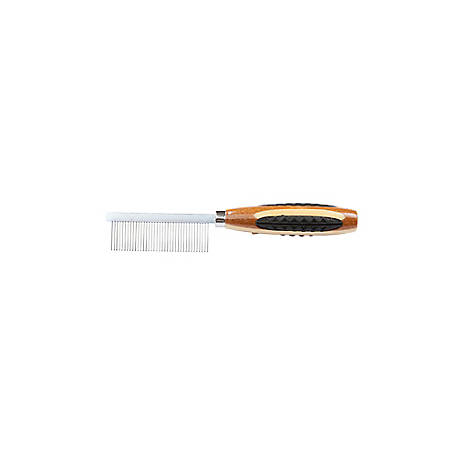 Bass Alloy Pin Comb Wide Tooth Striped, A17 - SB
