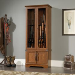 Shop Sauder Carson Forge Gun Display Cabinet at Tractor Supply Co.