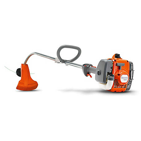 Husqvarna 122C, 17 in. 22cc 2-Cycle Gas Curved Shaft String Trimmer, 966712701