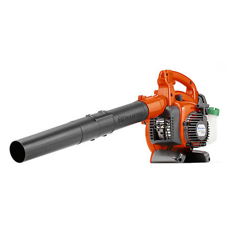 Husqvarna 125B, 28cc 2-Cycle Gas 425 CFM 170 MPH Handheld Leaf Blower, 952711925
