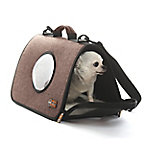 K&H Pet Products Lookout Pet Carrier Small Chocolate 17 x 10.5 x 9 in., 100213604