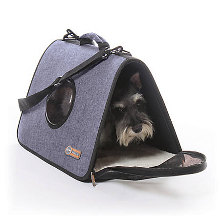 K&H Pet Products Lookout Pet Carrier Large-Denim 20 x 12.75 x 11, 100213607