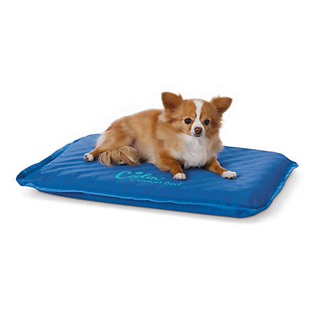 K&H Pet Products Coolin Comfort Bed Small Blue 17 X 24, 100213620