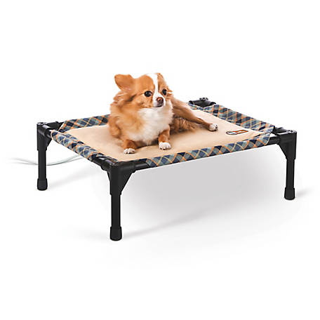K&H Pet Products 4W Thermopet Cot Small 17 x 22 x 7