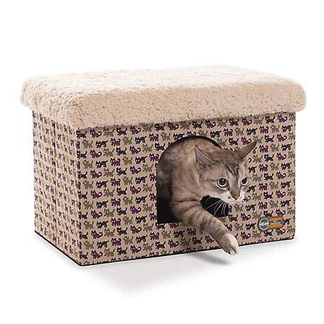 K&H Pet Products Kitty Bunkhouse Kitty Print, 100213594