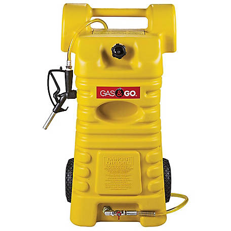 Gas & Go 25-Gallon Poly Diesel Fuel Cart
