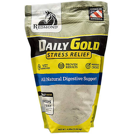 Redmond Daily Gold Pouch Stress Relief, 4.5 lb., 330684
