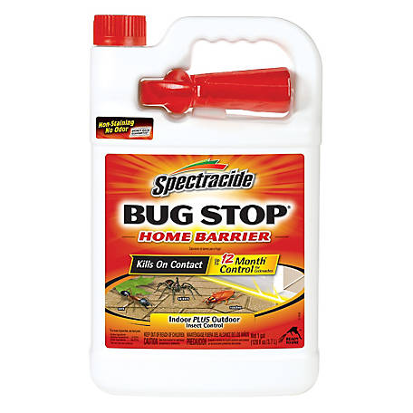 Spectracide Bug Stop Home Barrier, Ready-to-Use, 1 gal, HG-96098