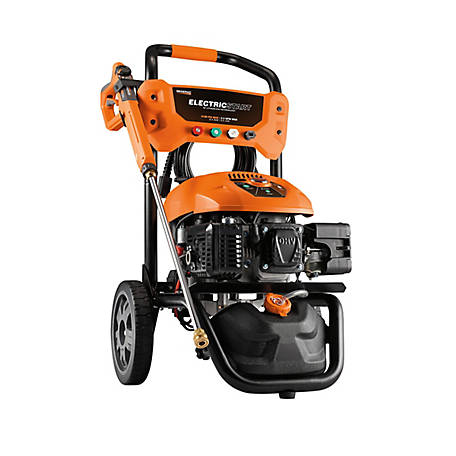 Generac 3,100 PSI 2.5 GPM Electric Start Pressure Washer, 7132