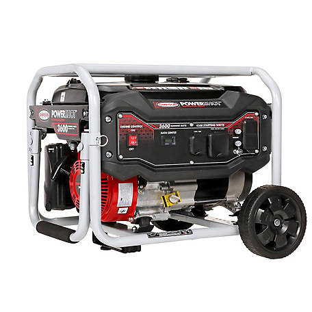Simpson PowerShot Portable 3600-Watt Generator, 70005