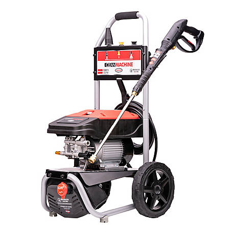 Simpson Clean Machine by SIMPSON 2300 PSI at 1.2 GPM SIMPSON Cold Water Residential Electric Pressure Washer, 60976