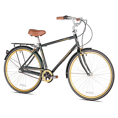 Kent 700C Men's Kent Retro Hybrid Bike