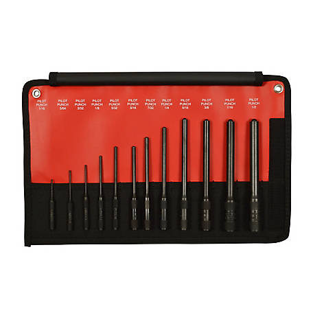 Mayhew 12 pc. Pro Pilot Punch Kit, 62254