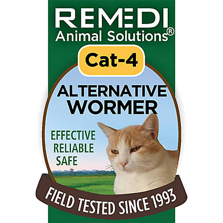 Remedi Animal Solutions Alternative Wormer Cat Spritz 1 oz., WR1PCAT4