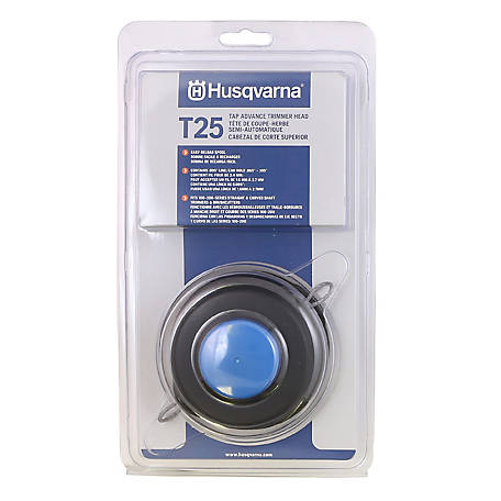 Husqvarna T25 Tap Advance Replacement Trimmer Head, 966674401