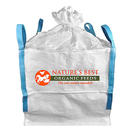 Nature's Best Organic Stock Feed 2,000 lb. Tote