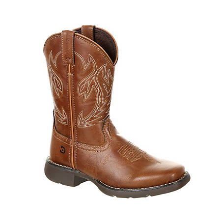 Durango Boys' Lil' Durango Rodeo Brown Kids Western Boot