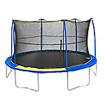 JumpKing 15 ft. Round Trampoline With Enclosure, JK1519BSC1