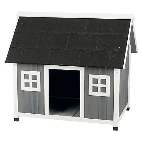 TRIXIE Pet Products Natura Barn Style Dog House M.L, 39501