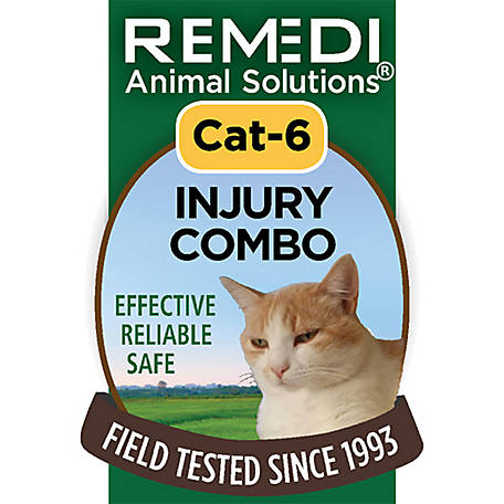 Remedi Animal Solutions Injury Combo Cat Spritz, 1 oz., WR1PCAT6