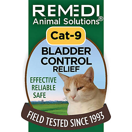 Remedi Animal Solutions Bladder Control Relief Cat Spritz, 1 oz., WR1PCAT9