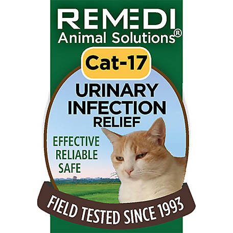 Remedi Animal Solutions Urinary Infection Relief Cat Spritz, 1 oz., WR1PCAT17