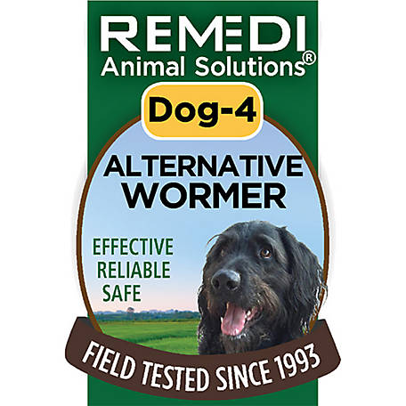 Remedi Animal Solutions Alternative Wormer Dog Spritz, 1 oz, WR1PDOG4