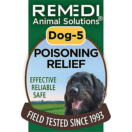 Remedi Animal Solutions Poisoning Relief Dog Spritz, 1 oz., WR1PDOG5