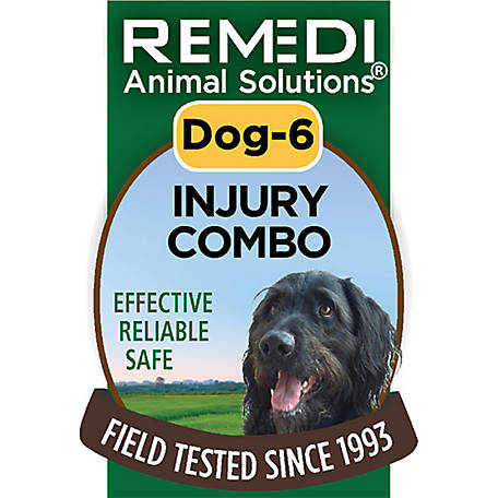 Remedi Animal Solutions Injury Combo Dog Spritz, 1 oz., WR1PDOG6
