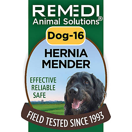 Remedi Animal Solutions Hernia Mender Dog Spritz, 1 oz., WR1PDOG16