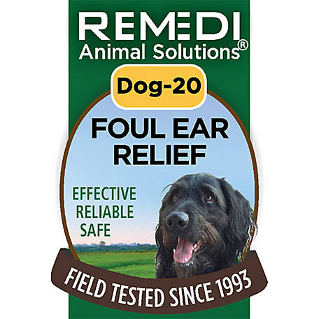 Remedi Animal Solutions Foul Ear Relief Dog Spritz, 1 oz., WR1PDOG20