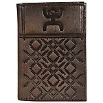 Hooey Tri-Fold Tooled Leather Wallet