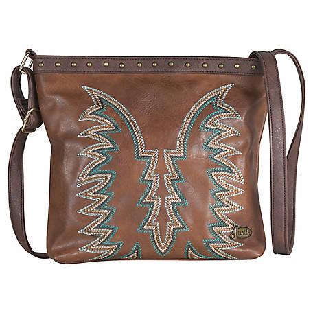 Justin Crossbody Western Bag At Tractor Supply Co