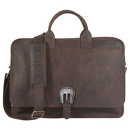 Tony Lama Genuine Leather Briefcase