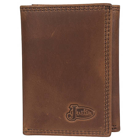 Justin Tri-Fold Leather Wallet